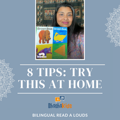 8 tips for Bilingual Read A Louds at home