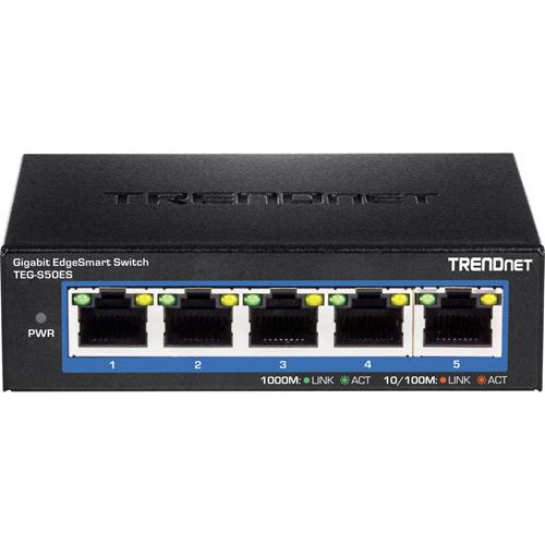 TRENDNET- 5-PORT GIGABIT EDGESMART SWITCH