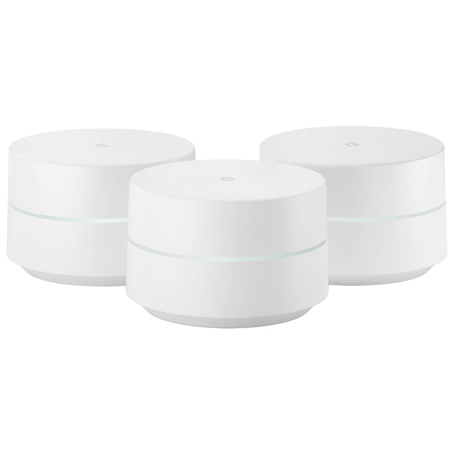 Google Wifi AC1200 Whole Home Mesh Wi-Fi System (NLS-1304-25) - 3 Pack