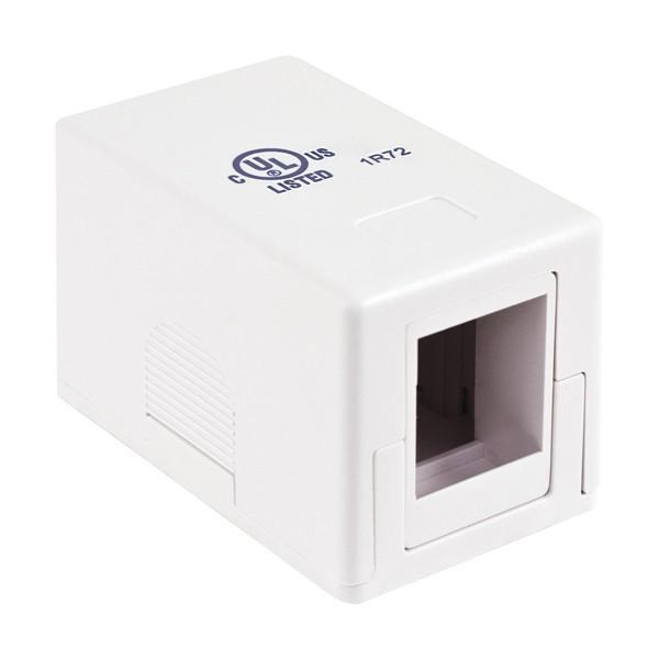 Surface Mount, 1-Port White