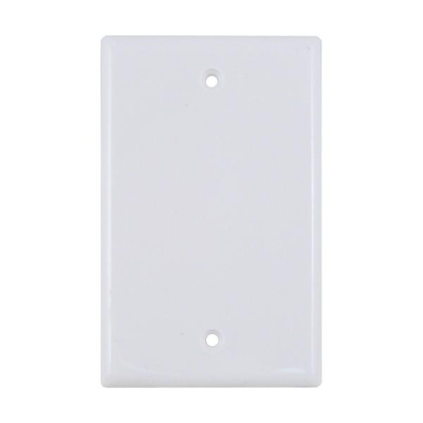 Blank Wall Plate 0-Port White
