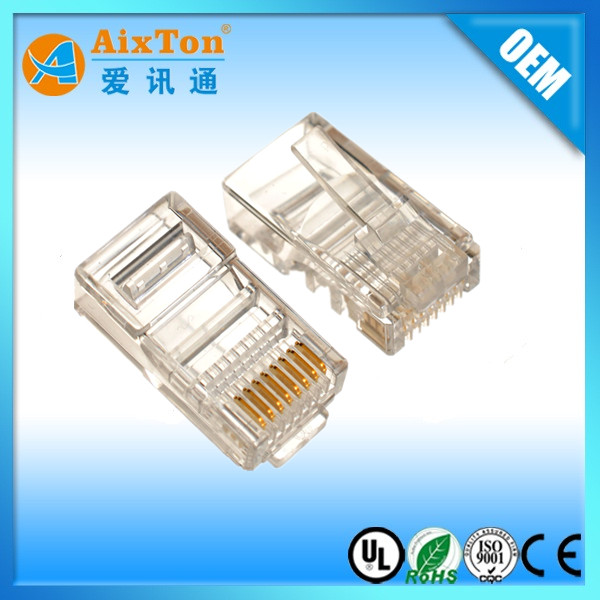 CAT6 UTP CONNECTOR ETHERNET RJ45 8P8C PLUG