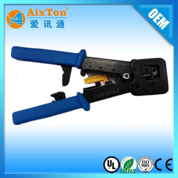 EZ TYPE NETWORK CABLE CRIMPING PLERS TOOLS FOR EZ CONNECTOR