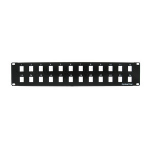 Blank Patch Panel, Black