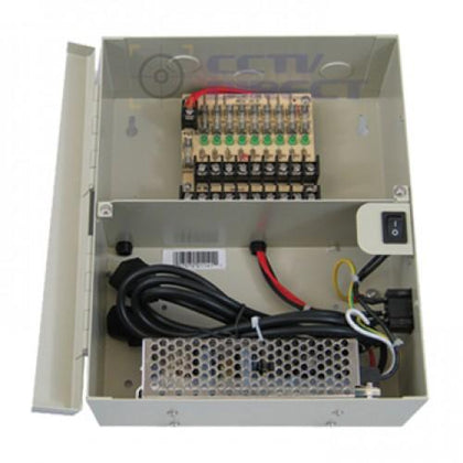 9 Channel Power Supply Box 12VDC Output