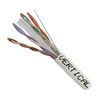 Cat6 23AWG UTP 8C Solid Bare Copper 550MHz CMR Rated PVC Jacket 1000ft