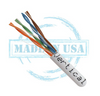 Cat6 CMP 23AWG UTP 4 Pair Solid Bare Copper 550MHz 1000ft Pull Box