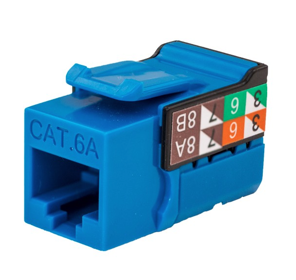 Cat6 RJ45 Punch Down Keystone Jack