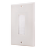 Feedthrough Wall Plate Brush Type Decora Style