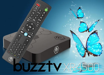 BuzzTV XR 4500 ULTRA HD IPTV BOX