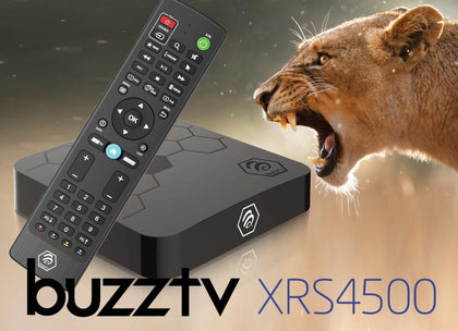 BuzzTV XRS 4500 ULTRA HD IPTV BOX