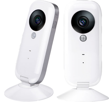 Control 2 Smart Indoor HD Camera with 2 way talk and PIR Censor