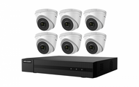 Hikvision EKI-K82T46 8-Channel 8MP NVR with 2TB HDD & 6 4MP Night Vision Turret Cameras Kit