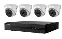 Hikvision EKI-K41T44 4-Channel 8MP NVR with 1TB HDD & 4 4MP Night Vision Turret Cameras Kit