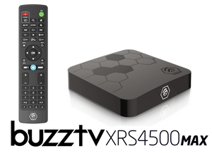 BuzzTV XRS 4500 Max ULTRA HD IPTV BOX with 128 GB Memory