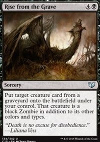 Rise from the Grave [Commander 2015] | Gamerz Cafe