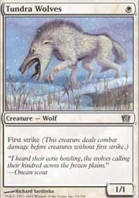 Tundra Wolves [Eighth Edition] | Gamerz Cafe