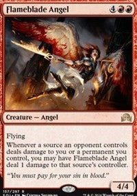 Flameblade Angel [Shadows over Innistrad] | Gamerz Cafe