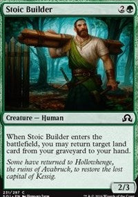 Stoic Builder [Shadows over Innistrad] | Gamerz Cafe