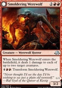 Smoldering Werewolf [Eldritch Moon] | Gamerz Cafe