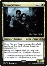 Gisa and Geralf [Eldritch Moon Promos] | Gamerz Cafe