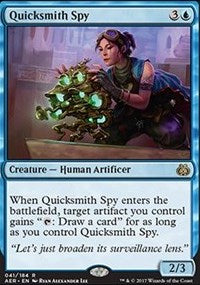 Quicksmith Spy [Aether Revolt] | Gamerz Cafe