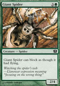 Giant Spider [Ninth Edition] | Gamerz Cafe