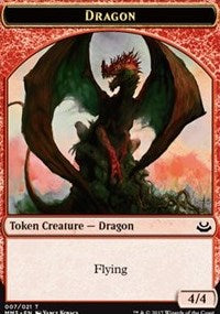 Dragon Token [Modern Masters 2017 Tokens] | Gamerz Cafe