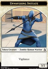 Unwavering Initiate Token [Amonkhet Tokens] | Gamerz Cafe