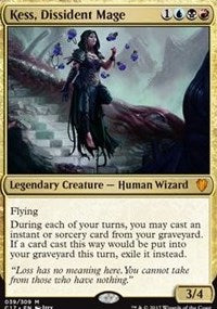 Kess, Dissident Mage [Commander 2017] | Gamerz Cafe