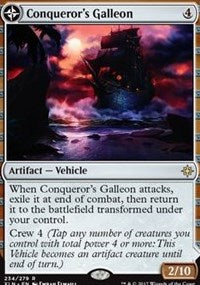 Conqueror's Galleon [Ixalan] | Gamerz Cafe