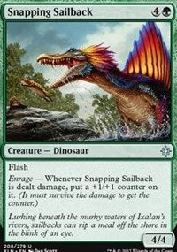 Snapping Sailback [Ixalan] | Gamerz Cafe