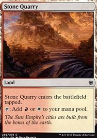 Stone Quarry [Ixalan] | Gamerz Cafe