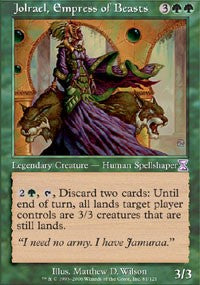 Jolrael, Empress of Beasts [Time Spiral Timeshifted] | Gamerz Cafe