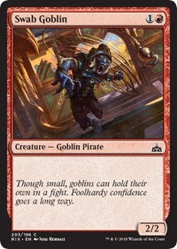 Swab Goblin [Rivals of Ixalan] | Gamerz Cafe
