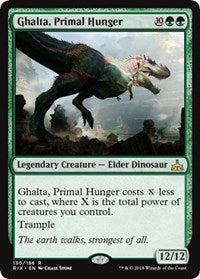 Ghalta, Primal Hunger [Rivals of Ixalan] | Gamerz Cafe