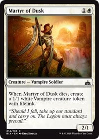 Martyr of Dusk [Rivals of Ixalan] | Gamerz Cafe