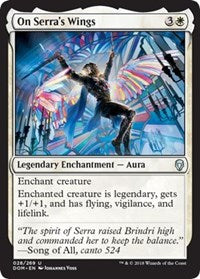 On Serra's Wings [Dominaria] | Gamerz Cafe