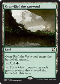 Oran-Rief, the Vastwood [Duel Decks: Elves vs. Inventors] | Gamerz Cafe