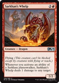 Sarkhan's Whelp [Core Set 2019] | Gamerz Cafe