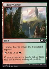 Timber Gorge [Core Set 2019] | Gamerz Cafe