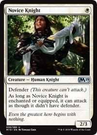 Novice Knight [Core Set 2019] | Gamerz Cafe