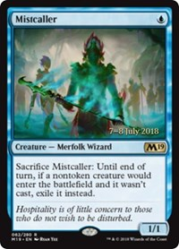 Mistcaller [Core Set 2019 Promos] | Gamerz Cafe