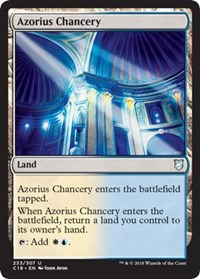 Azorius Chancery [Commander 2018] | Gamerz Cafe