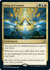 Song of Creation [Prerelease Cards] | Gamerz Cafe