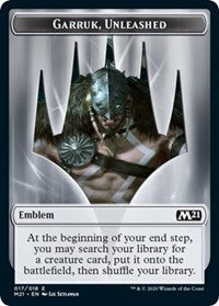 Emblem - Garruk, Unleashed [Core Set 2021] | Gamerz Cafe