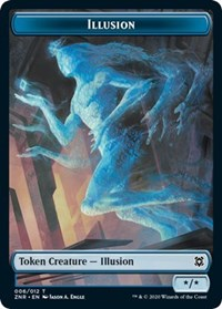 Illusion Token [Zendikar Rising] | Gamerz Cafe