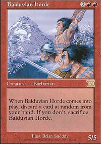 Balduvian Horde [Classic Sixth Edition] | Gamerz Cafe