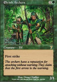 Elvish Archers [Seventh Edition] | Gamerz Cafe