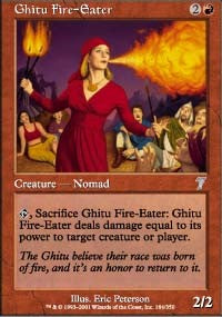 Ghitu Fire-Eater [Seventh Edition] | Gamerz Cafe